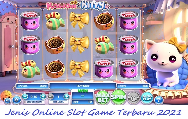Jenis Online Slot Game Terbaru 2021